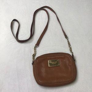 Michael Kors small crossbody leather bag